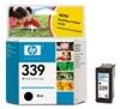 IdealOffice, HP 339 Black Inkjet Print Cartridge (21ml)/C8767EE/800 стр. А4 при 5% запълване/49 лв с ДДС