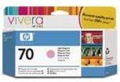 IdealOffice, HP 70 130 ml Light Magenta Ink Cartridge with Vivera Ink, HP Designjet Z2100, Z3100 /C9455A/115 лв с ДДС