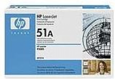IdealOffice, HP LaserJet  Black Print Cartridge for LJ P3005/M3035mfp/M3027mfp/Q7551A/ up to 6,500 pages/207 лв с ДДС