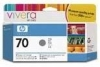 IdealOffice, HP 70 130 ml Grey Ink Cartridge with Vivera Ink, HP Designjet Z3100 /C9450A/115 лв с ДДС