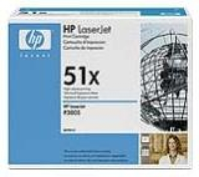 IdealOffice, HP LaserJet  Black Print Cartridge for LJ P3005/M3035mfp/M3027mfp/Q7551X /up to 13,000 pages/349 лв с ДДС
