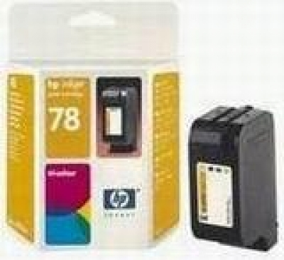 IdealOffice, HP 78 Tri-Colour Inkjet Print Cartridge /C6578DE/1350 стр. (5% покритие)/55 лв с ДДС