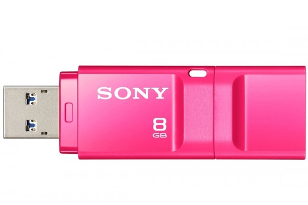 Флашка Sony New microvault 8GB Click pink USB 3.0 - 11,99 лв. с ДДС