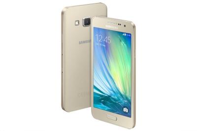 Мобилен телефон, Samsung Smartphone SM-A300F GALAXY A3 16GB Gold - 569 лева с ДДС