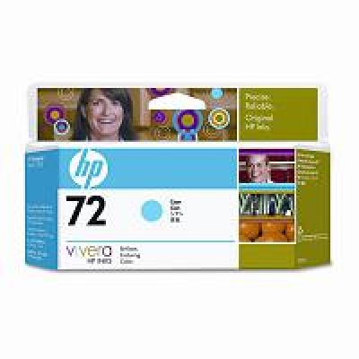 IdealOffice, HP 72 130 ml Cyan Ink Cartridge with Vivera Ink/C9371A/99 лв с ДДС