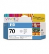 IdealOffice, HP 70 130 ml Light Grey Ink Cartridge with Vivera Ink, HP Designjet Z2100, Z3100/C9451A /115 лв с ДДС