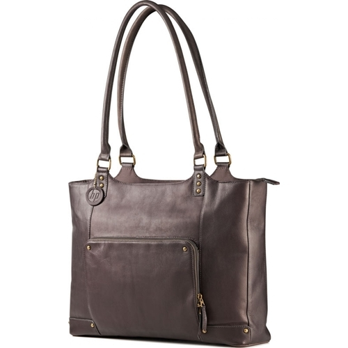 HP Ladies Brown Leather Tote - F3W12AA - 155 лв. с ДДС