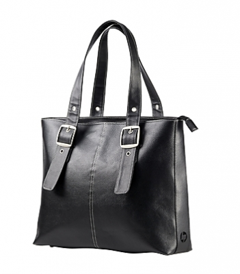 "Чанта, HP Ladies Black Tote, до 15.6"", F3W13AA - 75,78 лв. с ДДС"