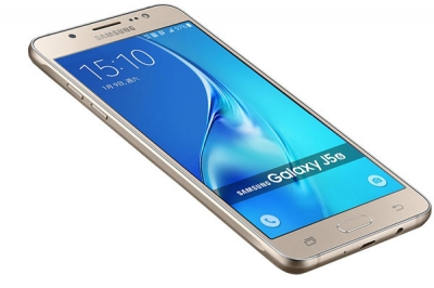 Мобилен телефон, Samsung Smartphone SM-J510F Galaxy J5, 16GB, Single Sim, Gold - 399,00 лв. с ДДС