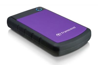 """Твърд диск, Transcend StoreJet 2.5"""" 2TB SATA (USB3.0, Rubber Case, Anti-Shock) - 212,77 лв. с ДДС"""