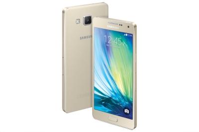 Мобилен телефон, Samsung Smartphone SM-A500F GALAXY A5 16GB Gold
