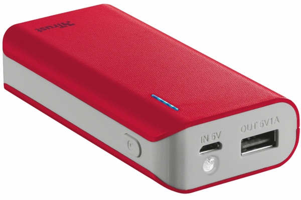 TRUST Primo Power Bank 4400 Portable Charger - 17,99 лв. с ДДС
