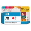 IdealOffice, HP 70 130 ml Red Ink Cartridge with Vivera Ink, HP Designjet Z3100 /C9456A/115 лв с ДДС