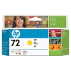 IdealOffice, HP 72 130 ml Yellow Ink Cartridge with Vivera Ink/C9373A/99 лв с ДДС