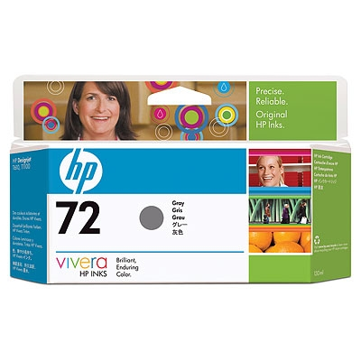 IdealOffice, HP 72 130 ml Grey Ink Cartridge with Vivera Ink/C9374A/99 лв с ДДС