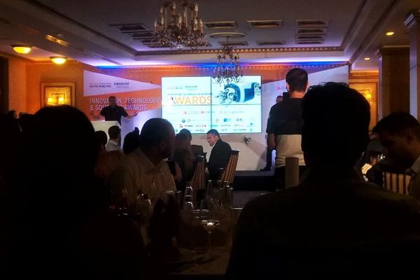 Превод на аутсорсинг конференция и връчване на награди с кмета на Бургас